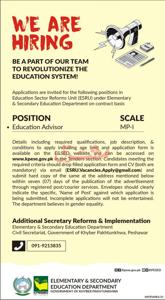 Elementary and Secondary Education Jobs 2021
