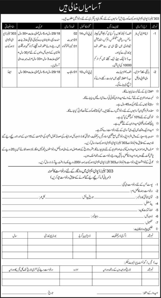 Join Pak Army EME Lahore Jobs 2021